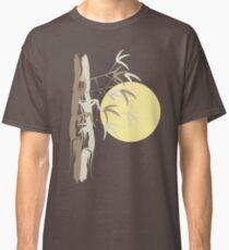 Oriental Zen Bamboo And Yellow Sunrise Classic T-Shirt