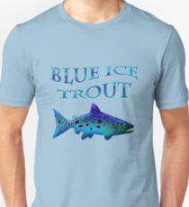 Blue Ice Trout Unisex T-Shirt
