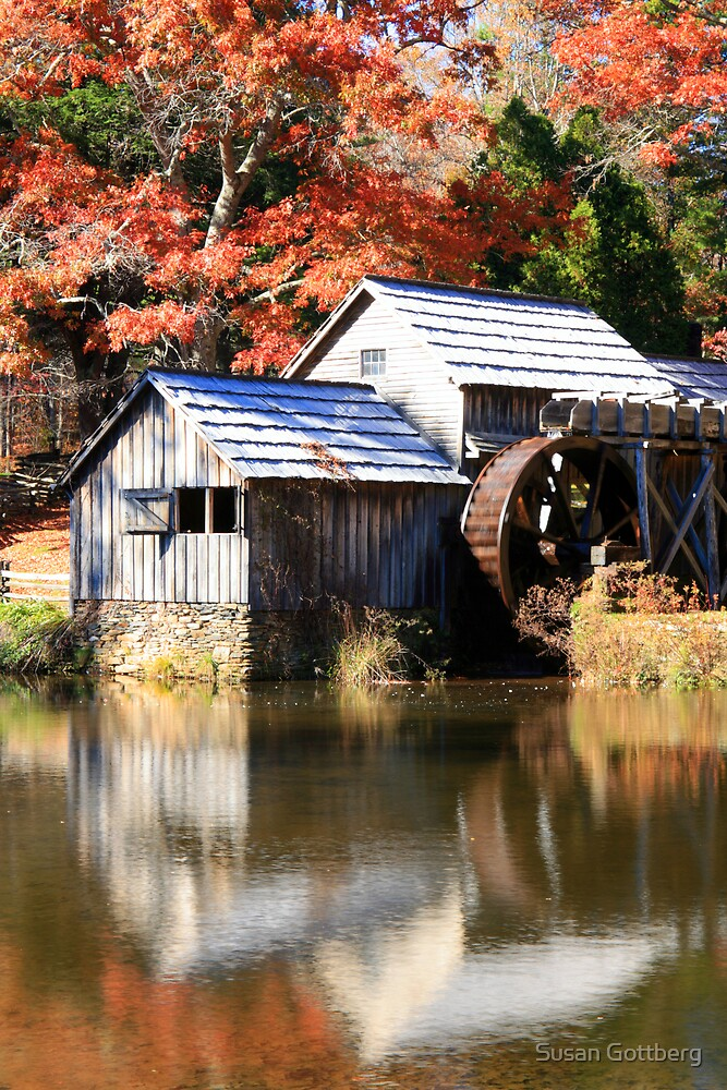 Mabry Mill by Susan Gottberg