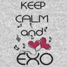 Keep Calm and love EXO by cheeckymonkey
