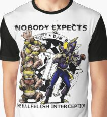 the Halfelish Interception Graphic T-Shirt