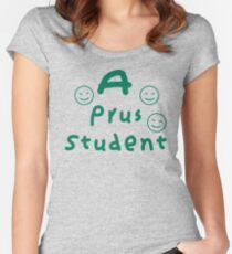 A Prus Student Women's Fitted Scoop T-Shirt