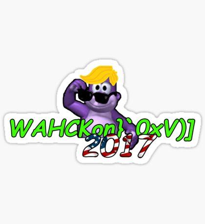 "WAHCKon['V""} Sticker"