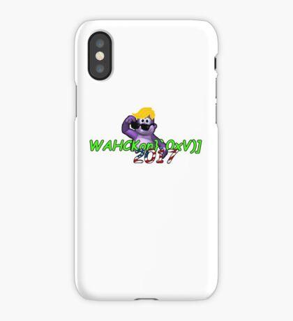 "WAHCKon['V""} iPhone Case"