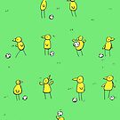 Canary Team (Norwich City FC inspired) by CanaryFan