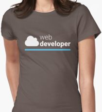 Web Developer Womens Fitted T-Shirt