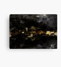 Bywater and the scouring of the Shire Canvas Print