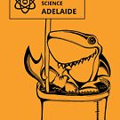 March for Science Adelaide – Shark, black by sciencemarchau