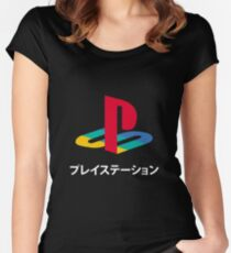 japanese Women's Fitted Scoop T-Shirt