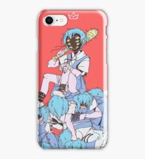 Evangelion - Mad Rei iPhone Case/Skin