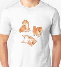 Shiba Inu Puppy Dog Lover Cute Cartoon Breed Gift Unisex T-Shirt