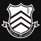 Shujin Academy crest - corner print by supanerd01