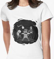 Twisted Firestarter Womens Fitted T-Shirt