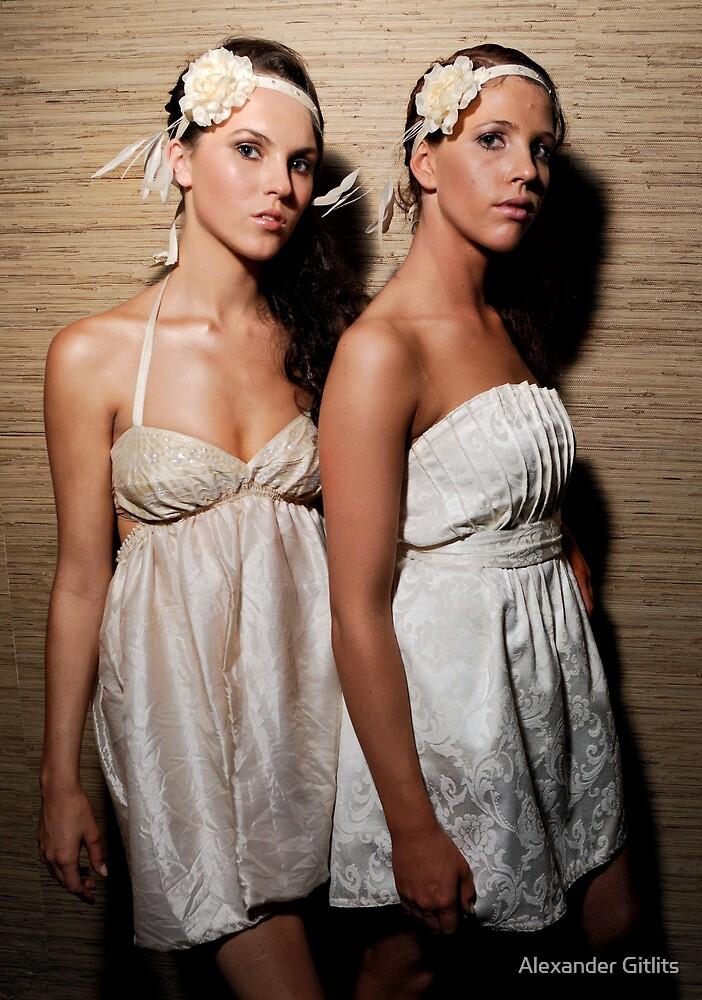 Models Backstage by Alexander Gitlits