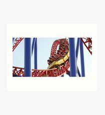 Theme Park 2 Coaster Art Print