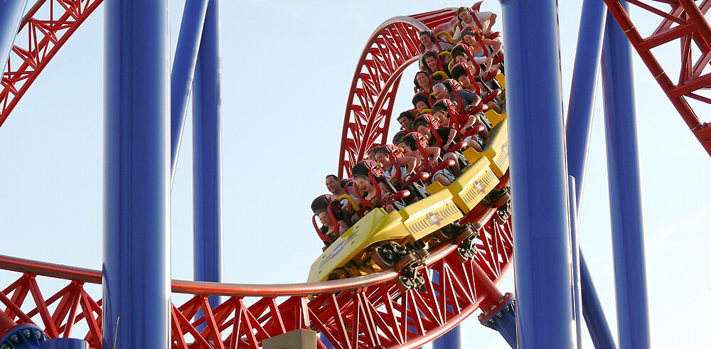 Theme Park 2 Coaster by eclectic1