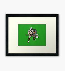 The Warrior Framed Print