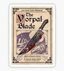 Vorpal Blade Sticker Sticker