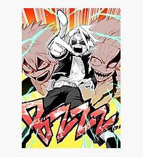 Boku No Hero Academia - BZZZZZ Poster Photographic Print