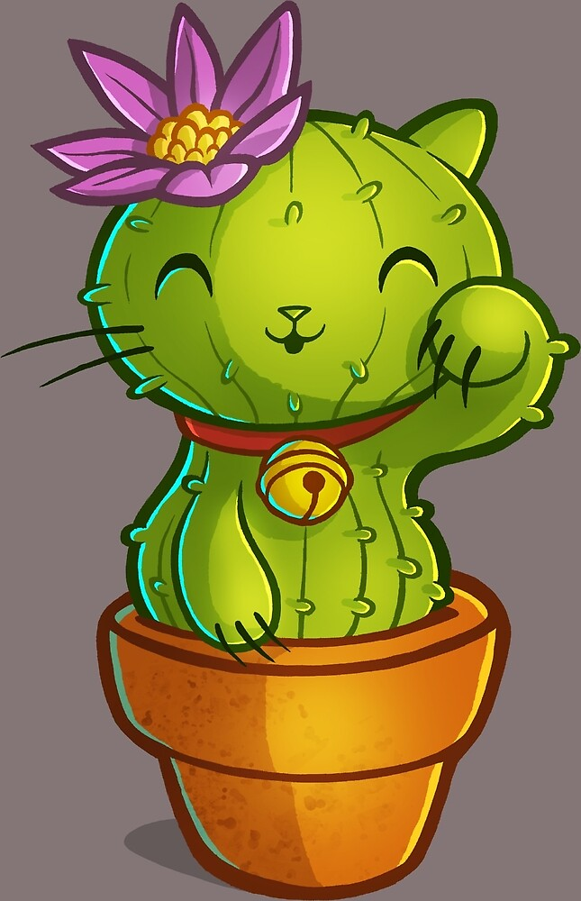 Cat-ti can flower by RemcoBakker