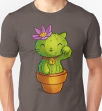 Cat-ti can flower Unisex T-Shirt