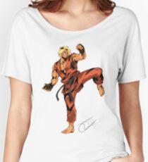 Street Fighter Ken Women's Relaxed Fit T-Shirt