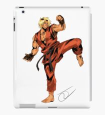 Street Fighter Ken iPad Case/Skin