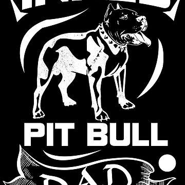 Inked Pit Bull Dad by TeeRash