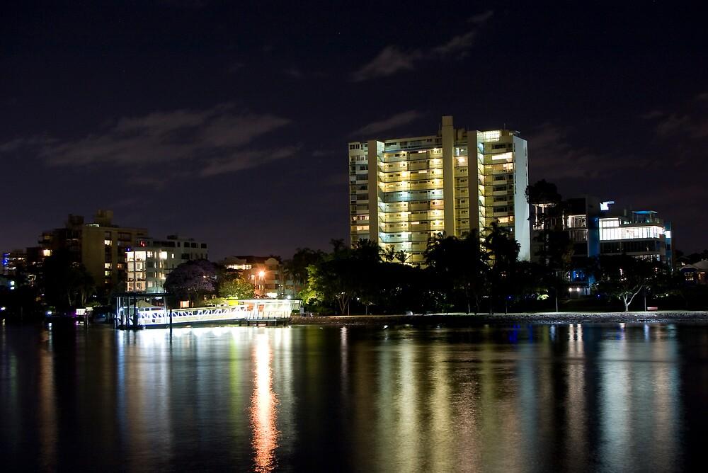 Brisbane at Night by Nathan Ashton