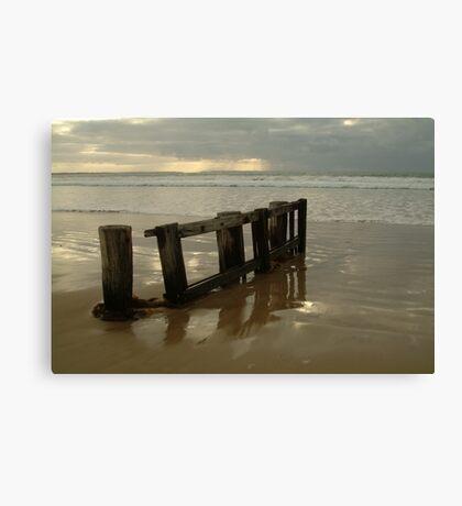 Pearl Morning Sunrise, Raffs Beach Canvas Print