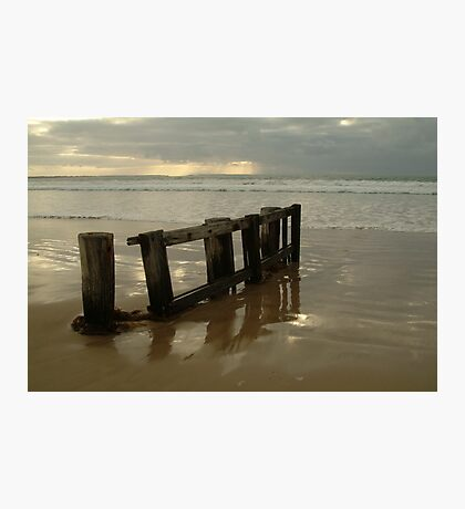 Pearl Morning Sunrise, Raffs Beach Photographic Print