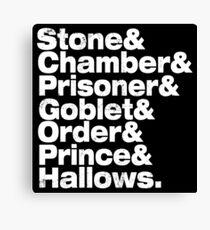 Stone Chamber Prisoner Goblet Canvas Print