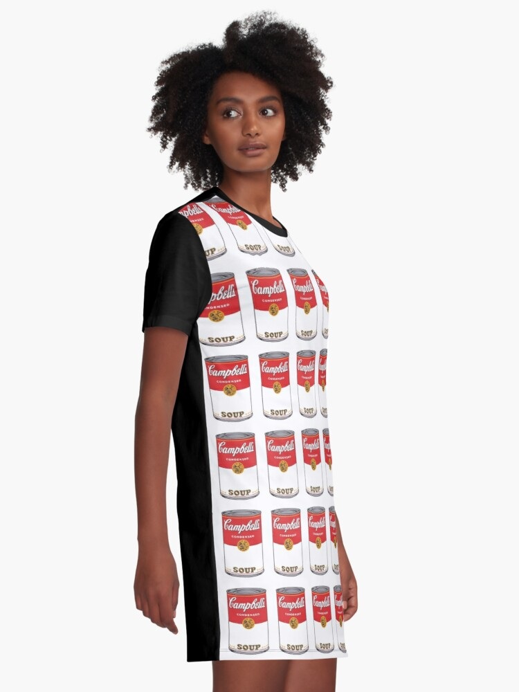 Alternate view of Campbell Soup Graphic T-Shirt Dress