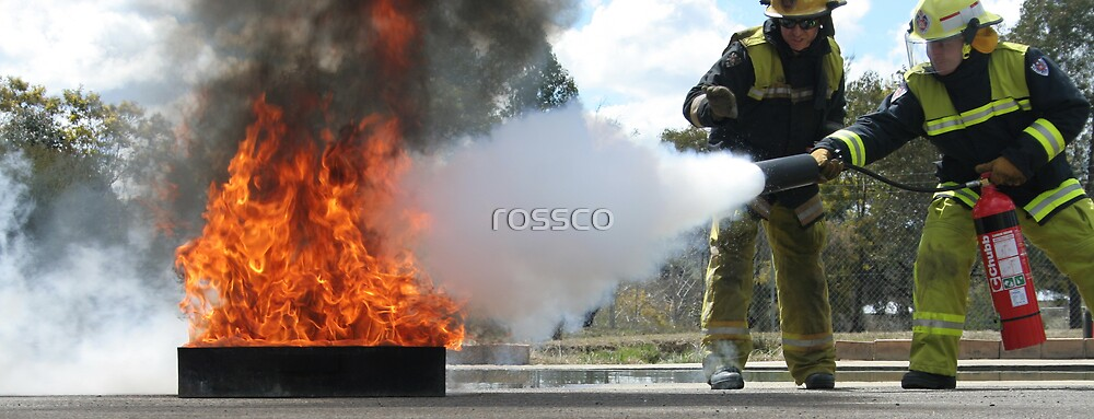 Putting It Out by rossco