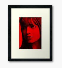Eliza Dushku - Celebrity (Action Pose) Framed Print