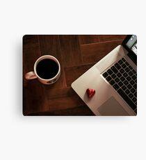 MacBook Luv Canvas Print