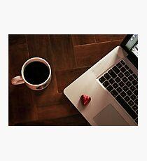 MacBook Luv Photographic Print