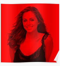 Eliza Dushku - Celebrity (Smiley Pose) (Square) Poster