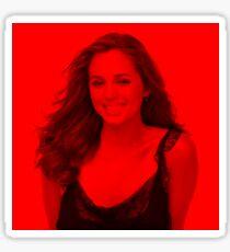 Eliza Dushku - Celebrity (Smiley Pose) Sticker
