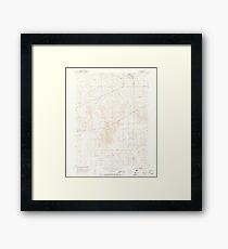 USGS TOPO Map Colorado CO Omar 451553 1951 24000 Framed Print