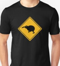 Caution: Kiwi Crossing T-Shirt