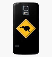 Caution: Kiwi Crossing Case/Skin for Samsung Galaxy