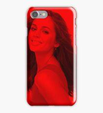 Eliza Dushku - Celebrity (Stylish Pose) iPhone Case/Skin