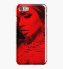 Eliza Dushku - Celebrity (Thinking Pose) iPhone Case/Skin