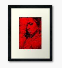 Eliza Dushku - Celebrity (Thinking Pose) Framed Print