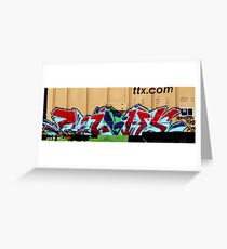 Art in Motion Greeting Card