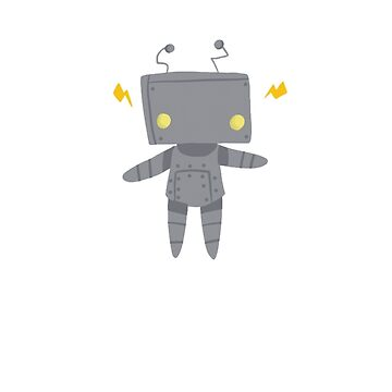 Sparky The Robot by AlexisCreations