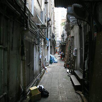 Hong Kong Alley by sotiri