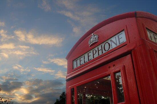 Phone box by David Elliott