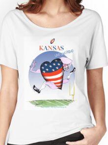 We Love Kansas, tony fernandes Women's Relaxed Fit T-Shirt